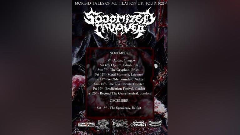 Sodomized Cadaver - Morbid Tales of Mutilation UK tour @ The Gryphon, Bristol