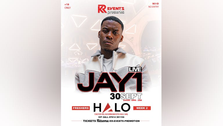 KR EVENTS Presents: JAY1 Live! // FRESHERS WEEK 2 Event