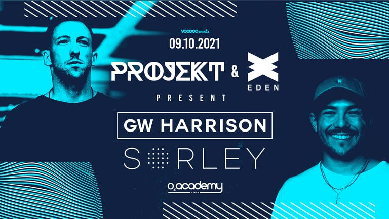 Eden Ibiza X Projekt at the O2 Academy with GW Harrison & Sorley - 9th October