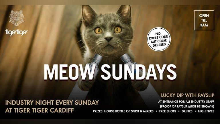 Meow Sundays - Industry Night at Tiger Tiger