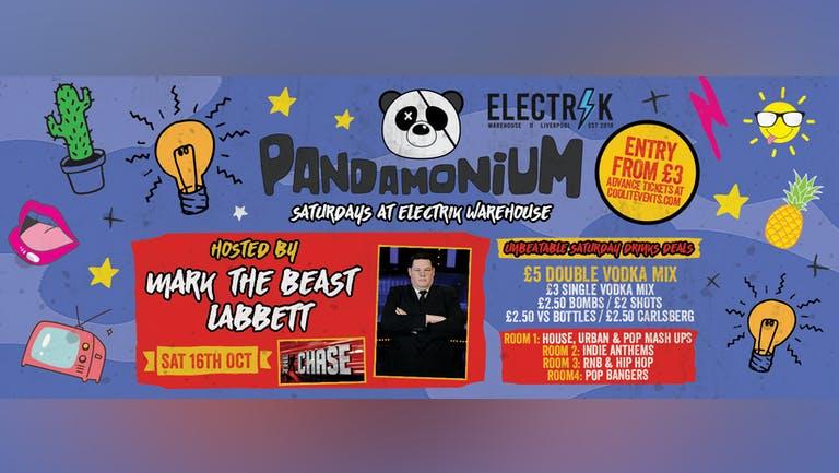 Pandamonium Saturdays : hosted by Mark 'The Beast' Labbett