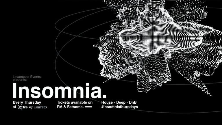 Insomnia London // 02.12.21
