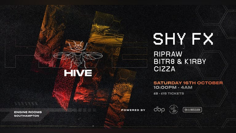 Hive Presents - Shy FX warehouse party