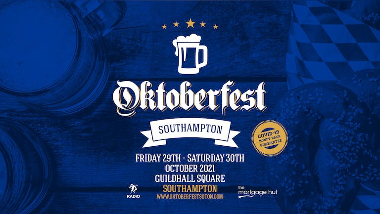 Oktoberfest Southampton • Saturday 30th October 2021 // 06:30pm - 11:00pm EVENING Session - SOLD OUT