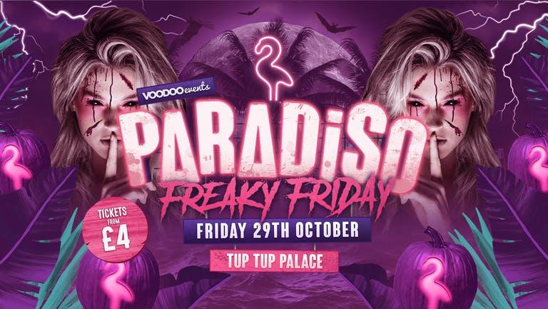 Paradiso Halloween - Freaky Friday