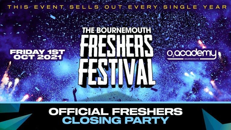 The Bournemouth Freshers Festival - | Bournemouth Freshers 2021  [Week 2 Freshers Event]