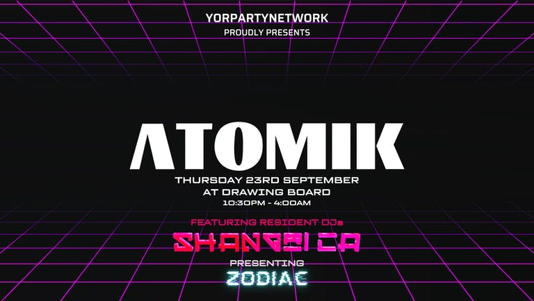 Pre Freshers - Atomik Thursdays at Drawing Board & BlueBox - Opening Night