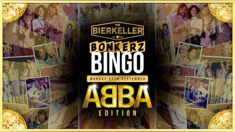 Bonkerz Bingo |  ABBA TAKEOVER