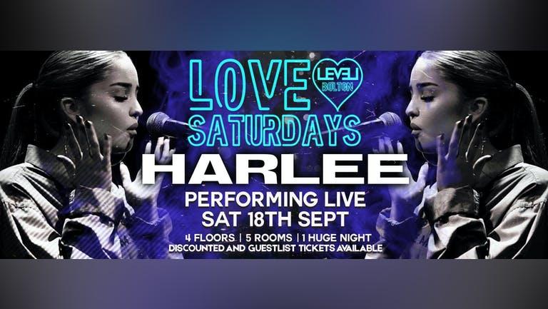 Love Saturday - Harlee - Performing Live