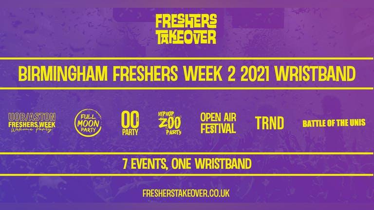 Birmingham Freshers Week Wristband - All 7 Venues   University Of Birmingham   Aston University