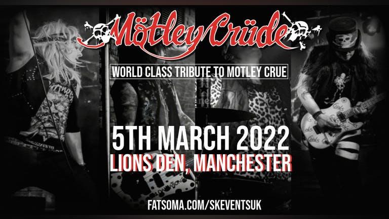 Mötley Crüde - A Tribute to Mötley Crüe Live At Lions Den, Manchester