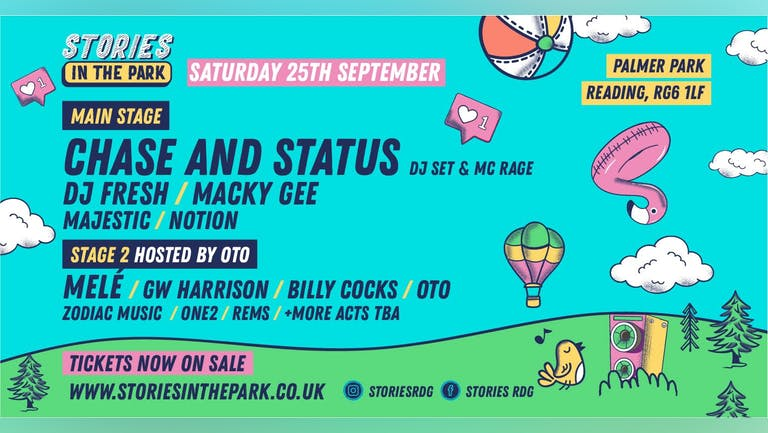 Stories In The Park | Saturday 25th September 2021