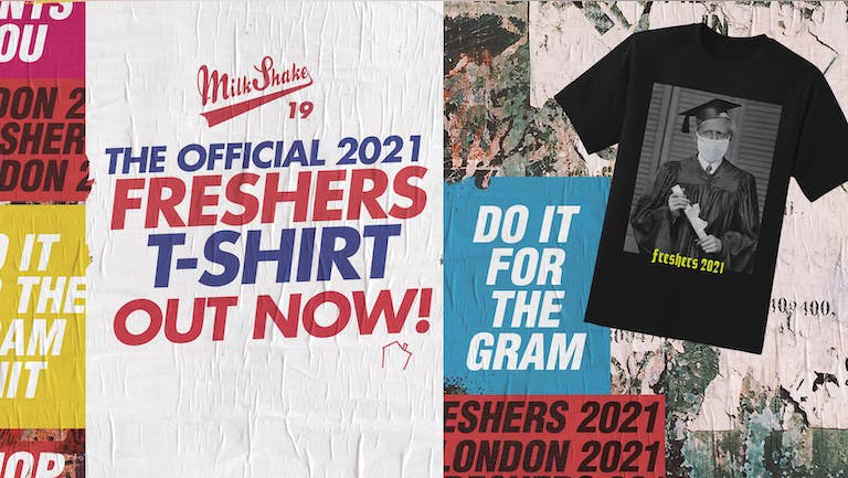 The London Freshers T-Shirt 2021 - Purchase Yours Now!