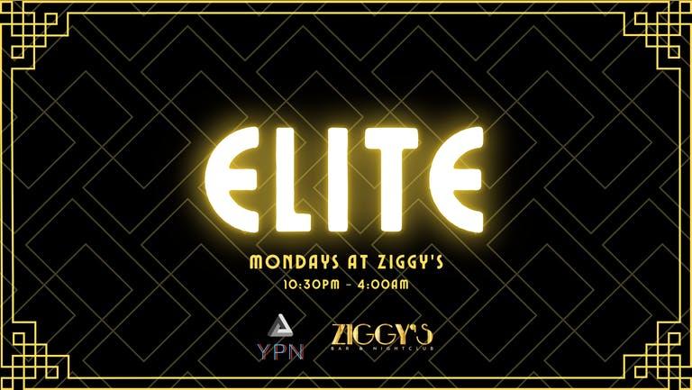 Freshers Week - Elite Mondays at Ziggy's - Opening Night