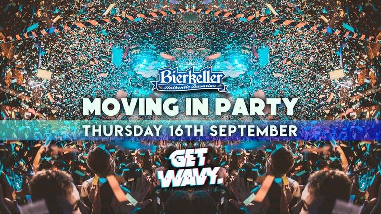 Bierkellers Moving In Party | 16.09