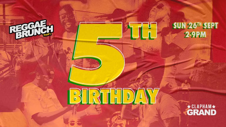 Reggae Brunch is Turning 5!
