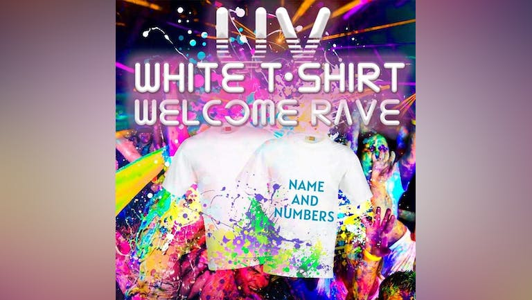 [LAST 25 TICKETS] THE UV WHITE T SHIRT WELCOME PARTY - CANTERBURY