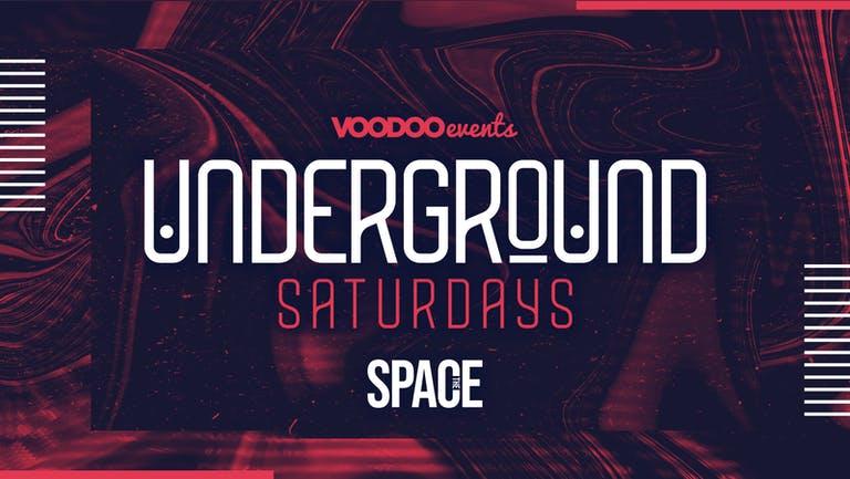 Underground Saturdays at Space -  11th September