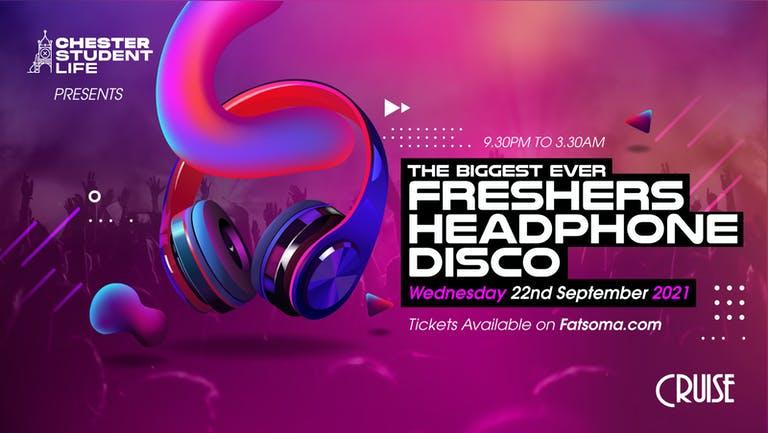 Biggest Ever Freshers Headphone Disco - Cruise Nightclub