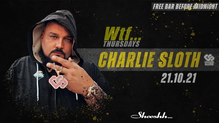 Wtf... FREE BAR Before Midnight 💥 CHARLIE SLOTH LIVE 💥