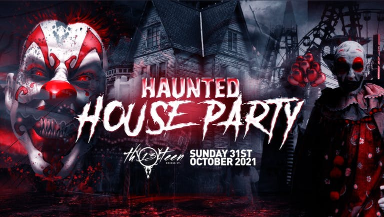 The Haunted House Party   Surrey / Guildford Halloween 2021 - 80% SOLD OUT!